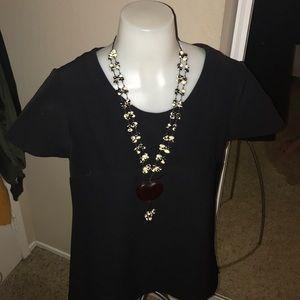 Black express blouse